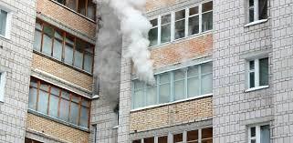 Пожар в жилом доме в г. Гуково