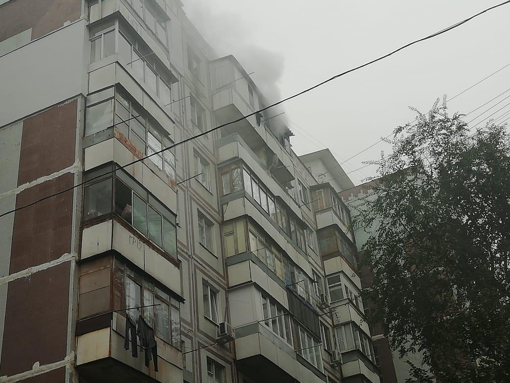 Пожар в жилом доме в г.Новочеркасске