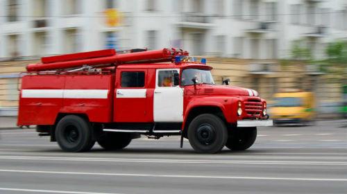 Пожар в частном домовладении в Тарасовском районе
