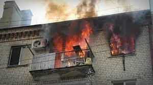 Пожар в жилом доме в Цимлянском районе