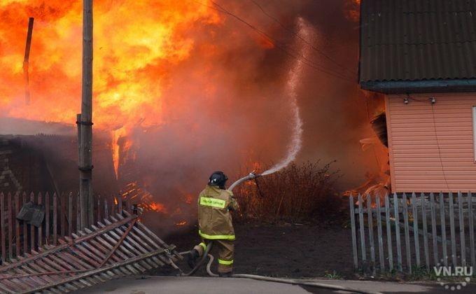 Пожар в бане в Неклиновском районе
