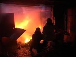Пожар в производственном здании в Мясниковском районе