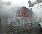 Пожар в жилом доме в Орловском районе