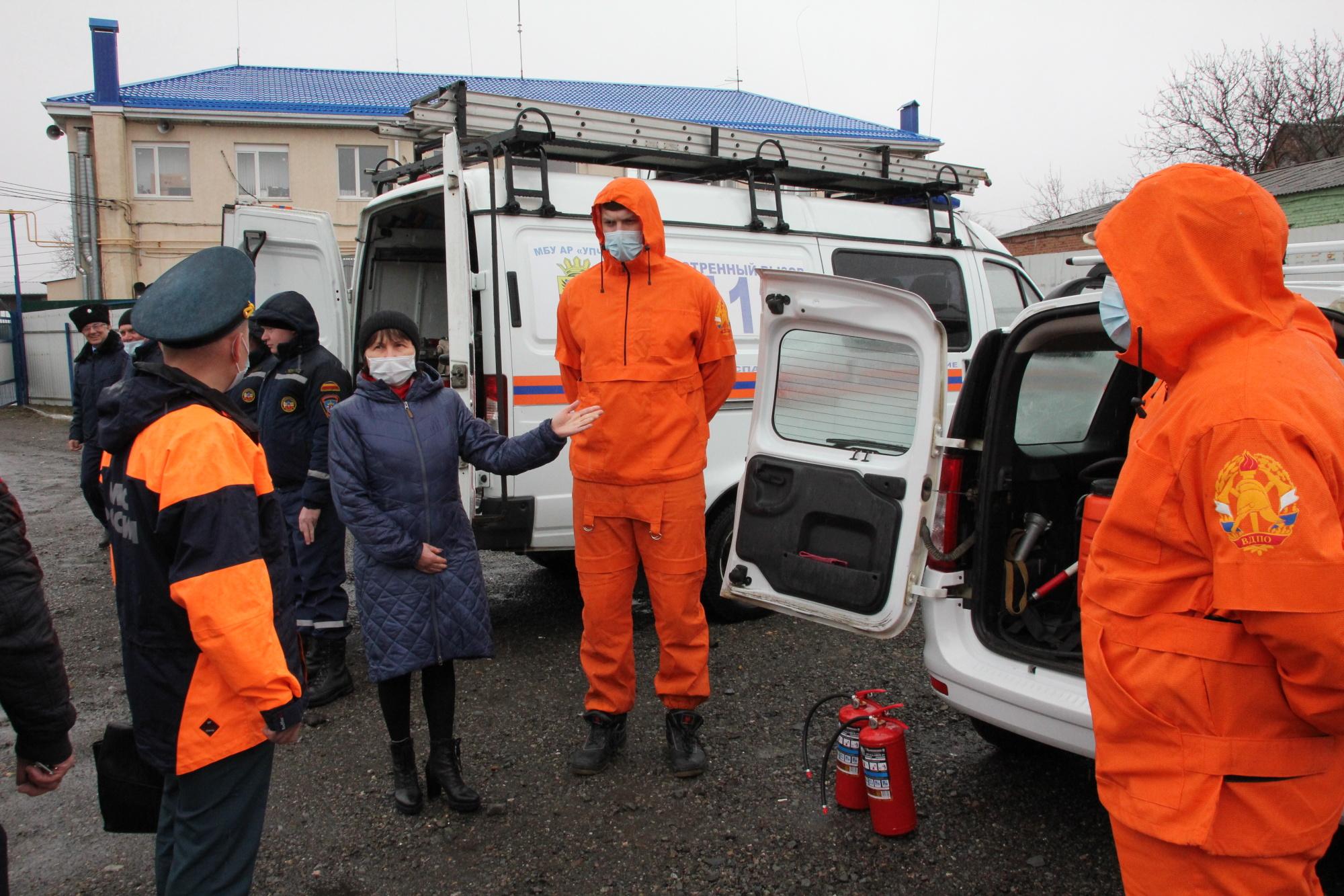 Комиссия центрального аппарата МЧС России оценила готовность региона к сезонным рискам