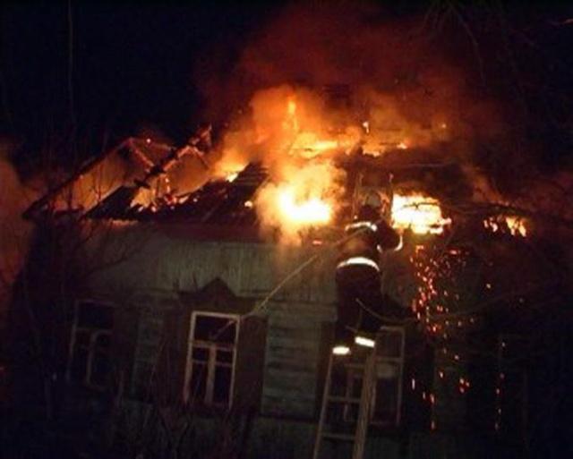 Пожар в летней кухне в Песчанокопском районе