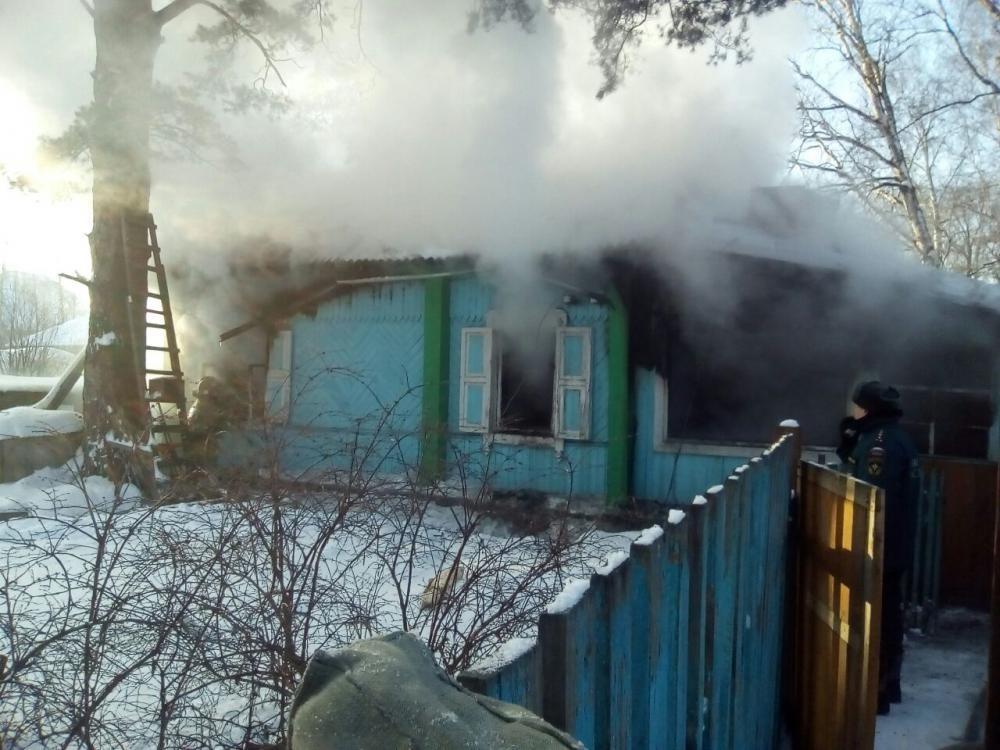 Пожар в дачном доме в г. Таганроге