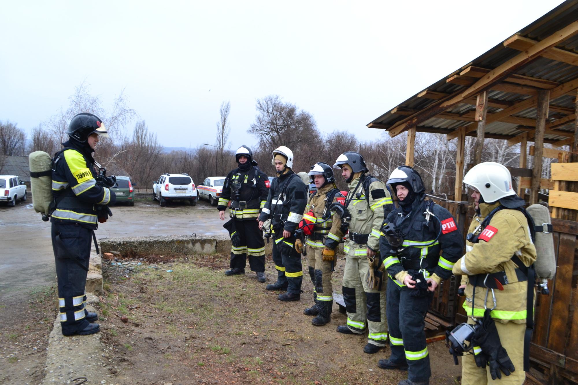 Газодымозащитники 9-го пожарно-спасательного отряда отработали действия в   условиях аварийной ситуации