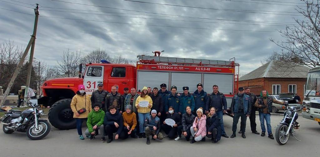 Сотрудники МЧС приняли участие в дне древонасаждения