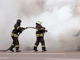 Пожар в бесхозном строении в Октябрьском (с)  районе