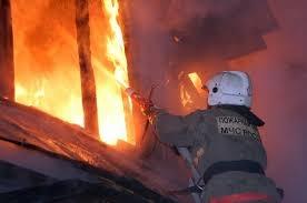 Пожар в жилом доме в Пролетарском (с) р-не