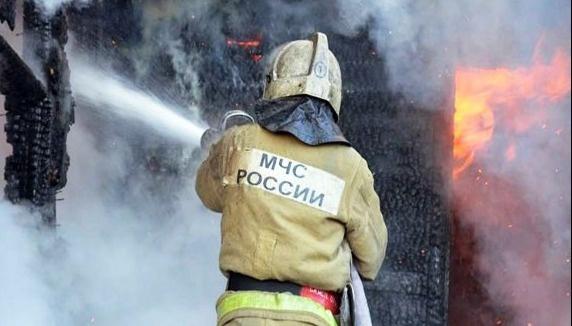 Пожар в хозяйственной постройке в Тарасовском районе