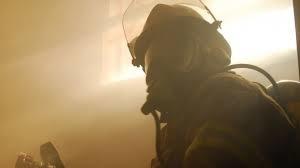 Пожар в жилом доме в Пролетарском (с) районе