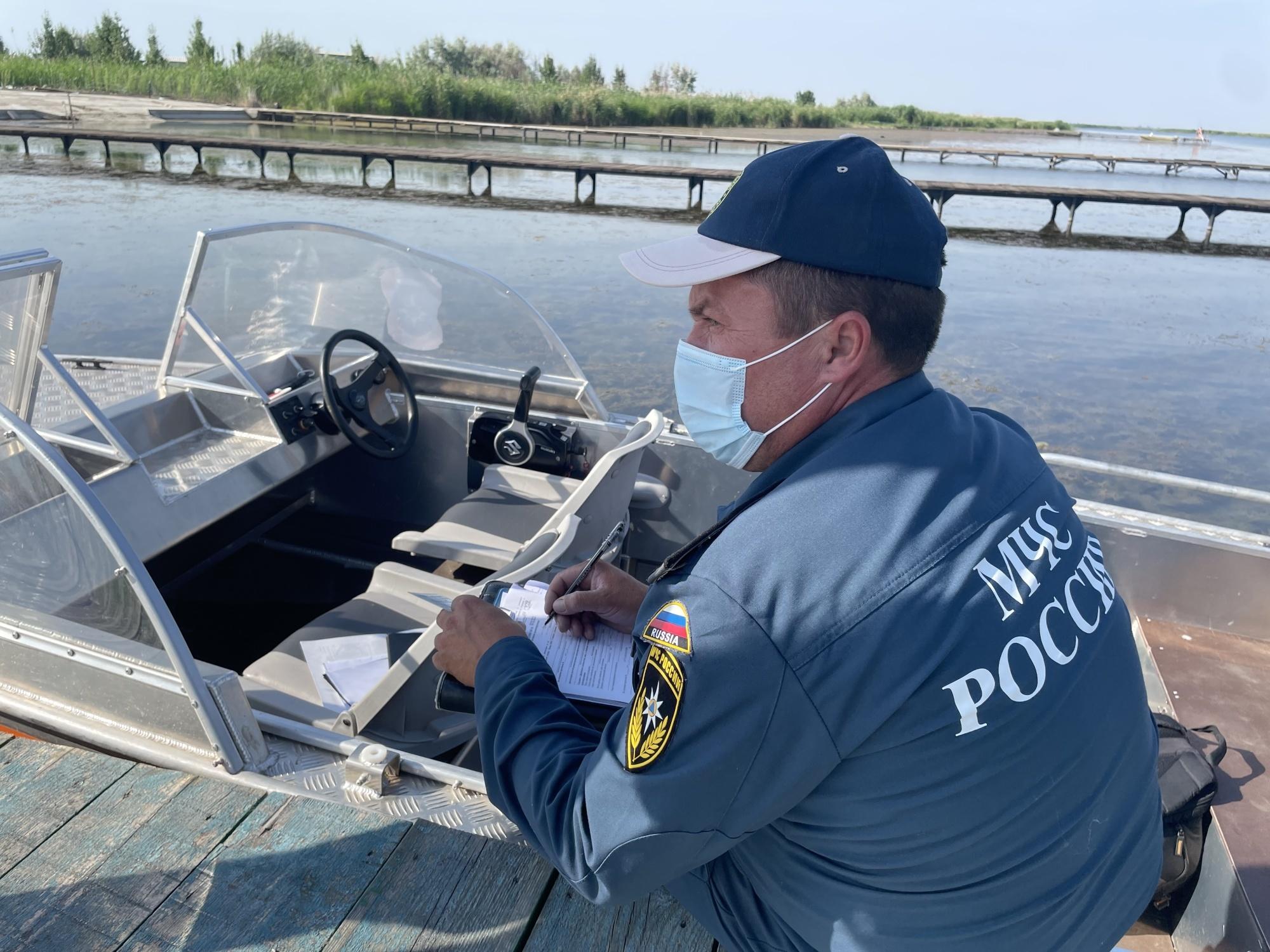 Инспекторы ГИМС провели рейд на Веселовском водохранилище