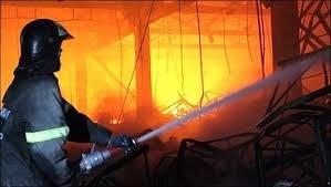 Пожар в производственном цехе в Аксайском районе