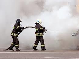 Пожар в частном доме в г.Шахты